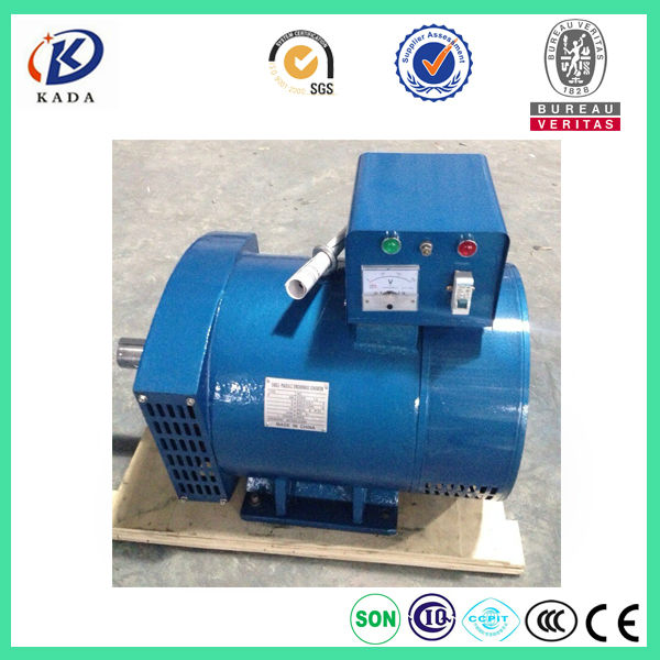 US $1625 0 |ST 20KW Single Phase Brush 20kva Generator 220V 50Hz Alternator  Free Shipping to Russia station by railway transportation-in Diesel