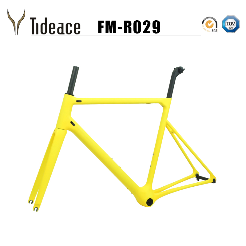 2019 Super Light Almost 800g One-piece Road Carbon Bicycle Frame 46/48/50/52/54/56/58cm Road Bike Monocoques Frame