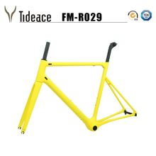 2019 super light almost 800g one-piece Road carbon bicycle frame 46/48/50/52/54/56/58cm road bike monocoques frame supper light bicycle carbon frame 2019 style v breaks glossy blue color t1000 bicycle frame bsa bb30 pf30 for 49 52 54 56 58cm