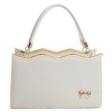 2017 Luxury High Quality Designers Brand Handbags Bow Women Leather Shoulder Women Bags Women Messenger Bags
