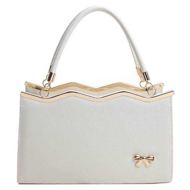 2017 Luxury High Quality Designers Brand Handbags Bow Women Leather Shoulder Women Bags Women Messenger Bags S-161