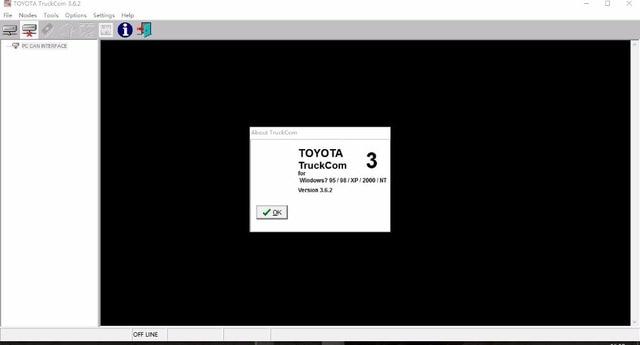 TruckCom 3.6.2v For Toyota