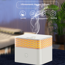 120ml USB Aroma Essential Oil Diffusor DC 5V Ultrasonic Romantic Warm Light Aromatherapy Difusor Humidifier For Home Office Car