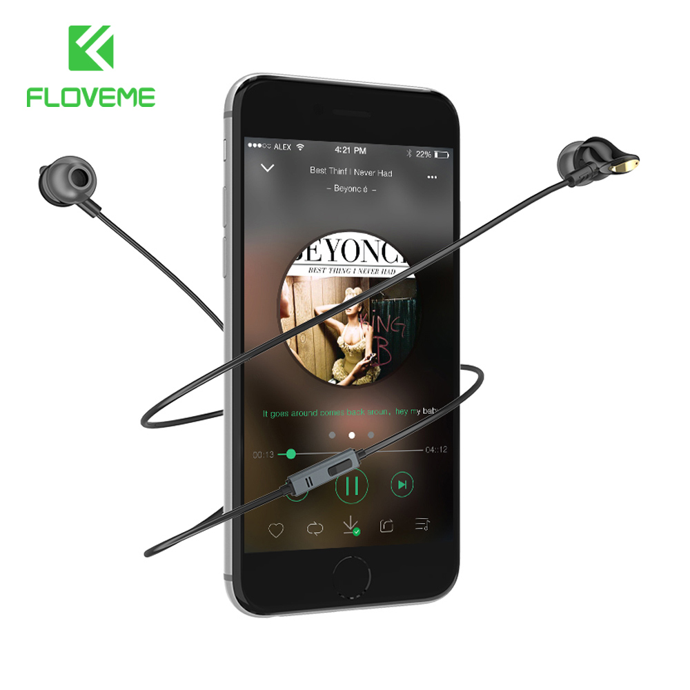 FLOVEME Wired In-ear Earphone HIFI Bass Stereo Answer Phone Microphone Earphone For iPhone 6 6S 7 7 Plus for Samsung S5 S6 S7