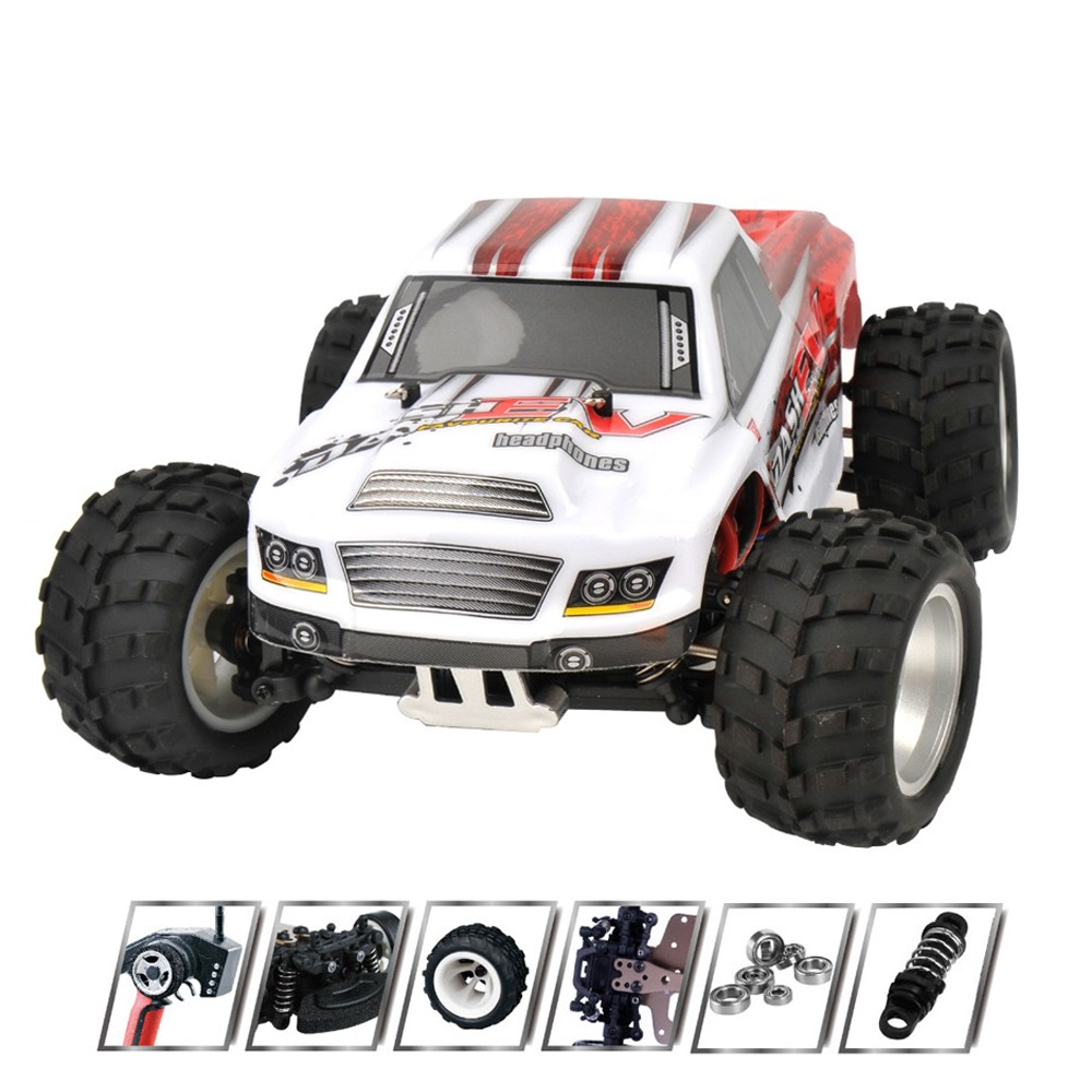 70KM/H high speed 1:18 4WD RC car Buggy Off-Road car A979-B rc Monster Truck Radio Control RC car toy kid best gift VS JJRC A959