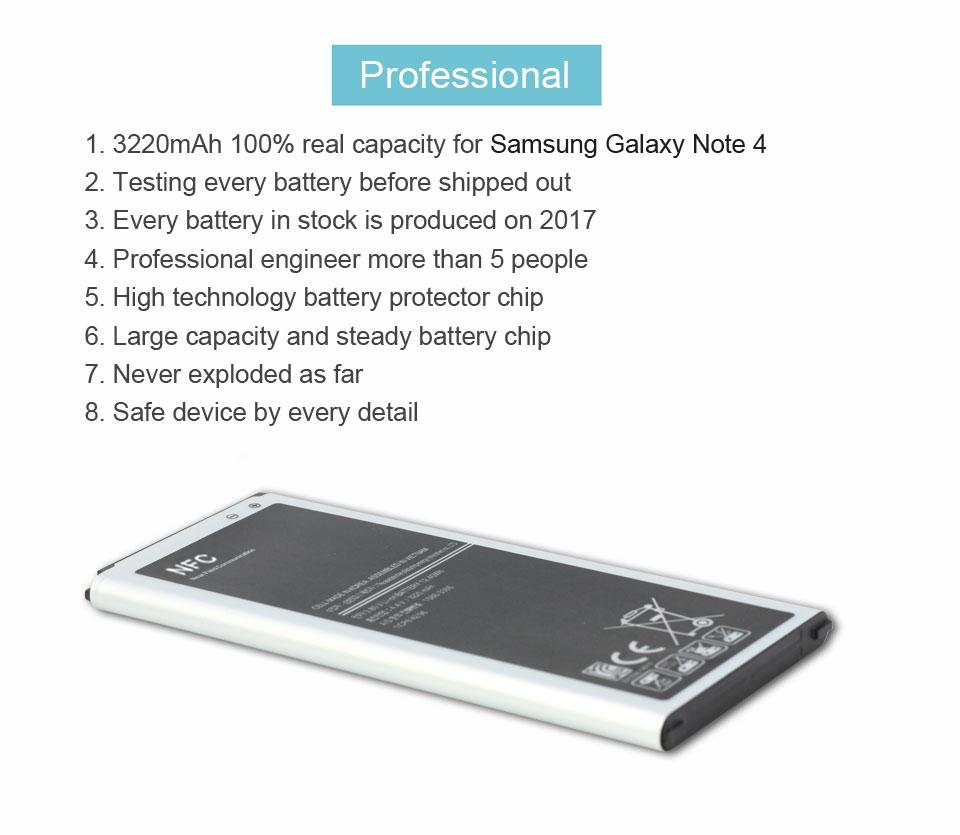 Aku –  Samsung Galaxy Note 4