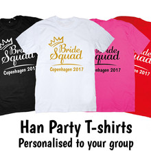 3a830eaed4 Women Tops Hen Do Party Bride Tribe 2019 T-shirt Ladies Female Gifts  Dropshipping(