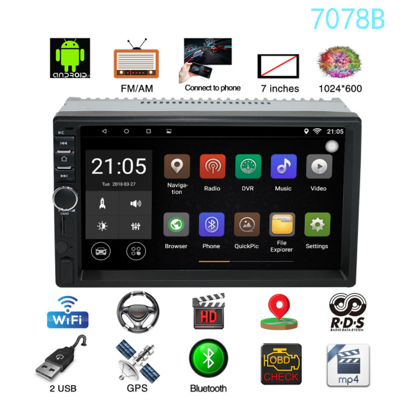 Купить 2 Din автомобиль DVD аудиосистема для автомобиля ...