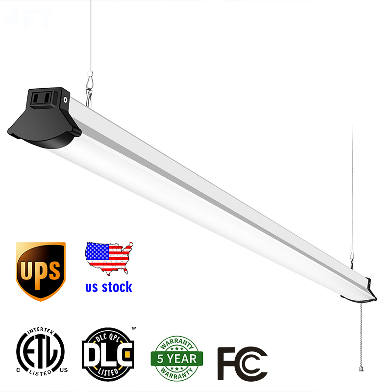 LED Shop Lights Linkable LED Garage Light Daylight White
