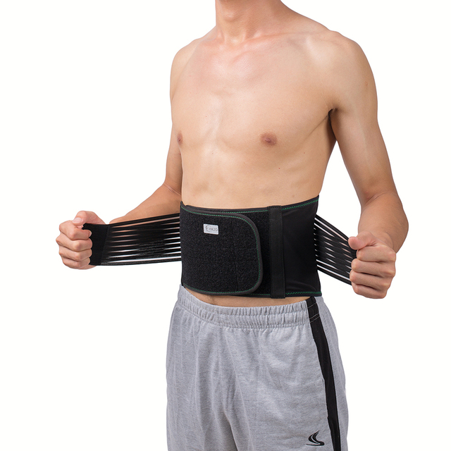 Lower Back Lumbar Spinal Spine Waist Brace Support Belt Corset Stabilizer Cincher Tummy Trimmer Trainer Weight Loss Slimming 3