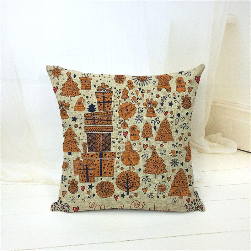 2017 Fashion European Decorative Cushion cover Cristmas Style Throw Pillows Car Home Decor Cushion Decor Cojines