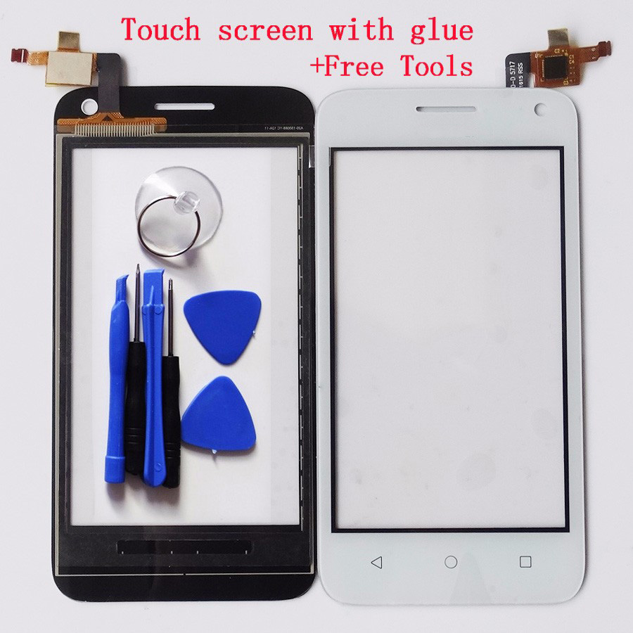 Front Glass Sensor Touch Screen Digitizer TP For Huawei Ascend Y336 Y3 Y360 Touch Panel Touchscreen Tools Tracking No. 4.0 inch