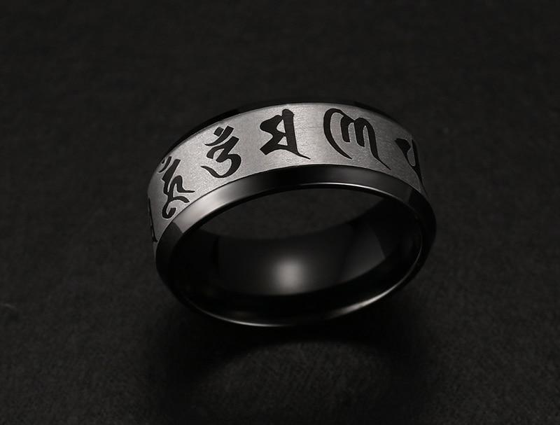 Men's Om Mani Padme Hum Ring 2