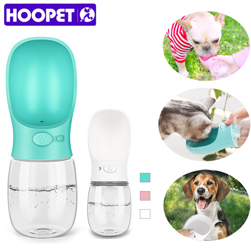 HOOPET Dog Water Bowl Dog Bottle  Bowls For Cats Cat Feeder Drinking Bowl Fot Dogs Dog Waterer  Water Dispenser Feeder