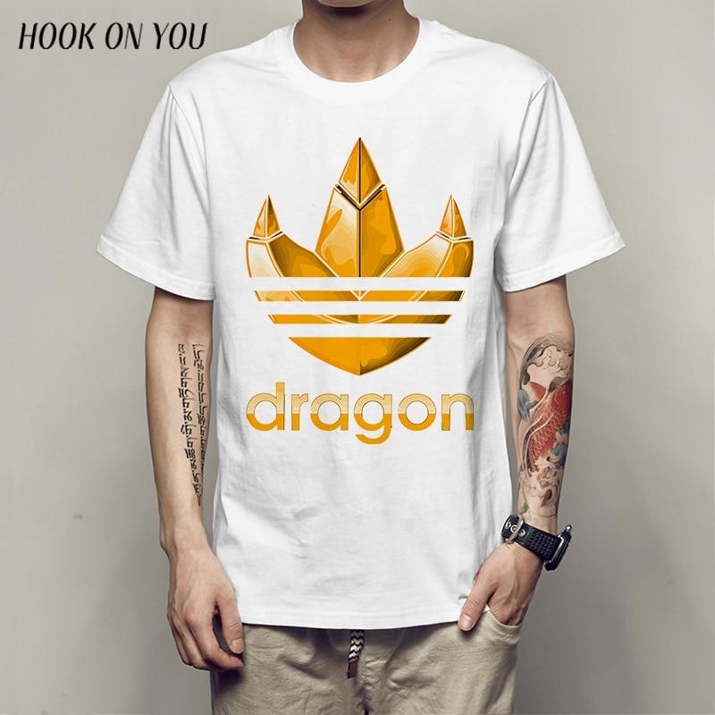 2018 Dragon Claws Printing  T-Shirt Short-sleeve Top Tees  Funny Brand Male T Shirt
