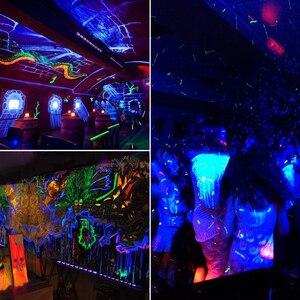 Image 3 - 12 LED Disco UV Violet Black Lights DJ 36W Par Lamp UV For Party Christmas Bar Lamp Laser Stage Wall Washer Spot Light Backlight