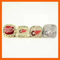 Nhl 1997 1998 2002 2008 ديترويت ريد وينغز ستانلي بطولة الدائري ، 4 حلقات كمجموعة