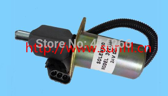 Wholesale 3921980 ,3918601 Fuel shutdown solenoid shut off solenoid 6CT/6CTA ,24V 3924450 2001es 12 fuel shutdown solenoid valve for cummins hitachi
