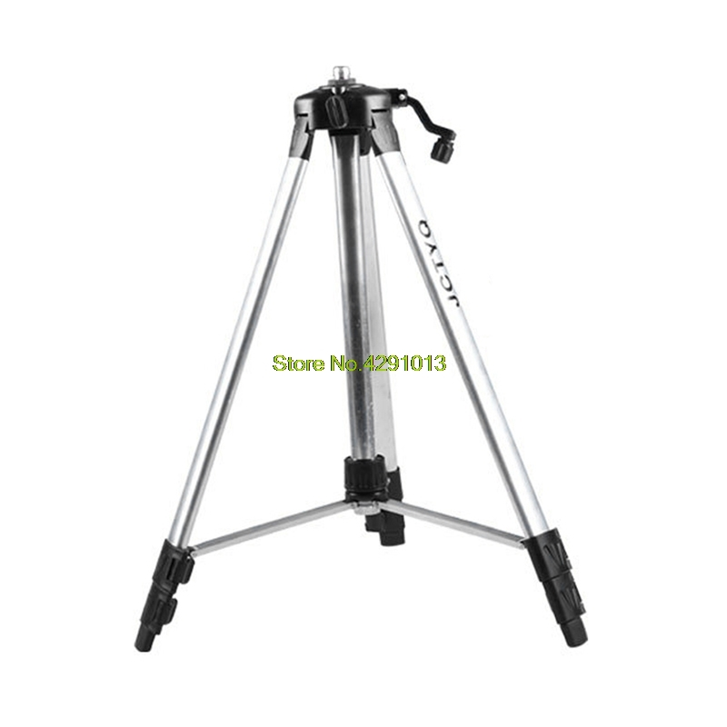 150cm Tripod Carbon Aluminum With 5/8 Adapter For Laser Level Adjustable Drop Ship