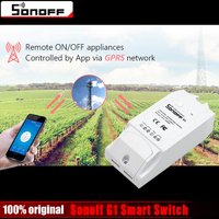 ITEAD Sonoff G1 Smart Home Wireless WiFi Switch Remote Control Power Via GPRS NET Work Support