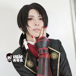 Image 2 - HSIU Peluca de Cosplay de alta calidad de Kashuu Kiyomitsu, Touken Ranbu, traje de fantasía en línea, pelucas de juego, envío gratis, Disfraces de Halloween, pelo