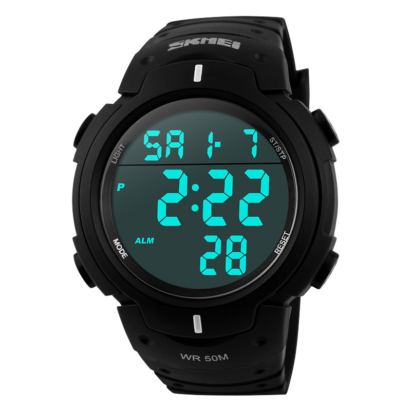 цена на 2017 Skmei Military Men Watchs Digital Led Army Sports Watches Men Quartz Wristwatch Relogio Masculino 2015 Male Clock Relojes