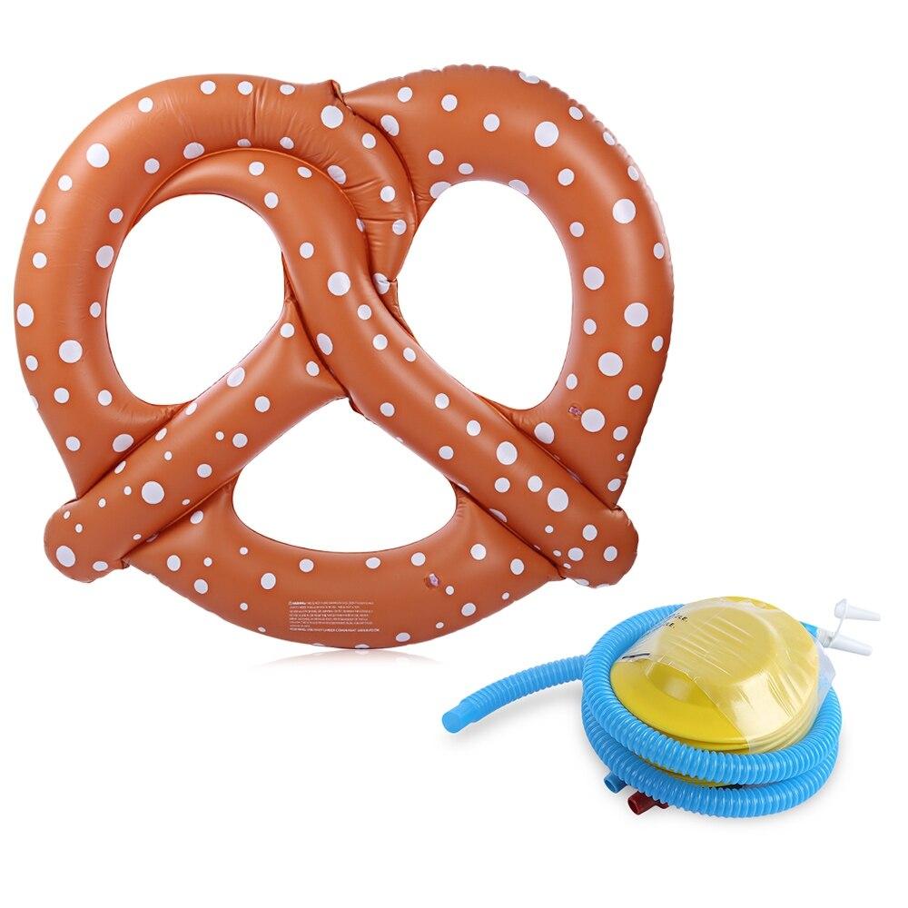 Piscine gonflable pain flottant rangée lit de natation jouet eau plage bateau avec pompe pour Sports nautiques accessoires de natation