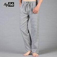 Verdicken Plus Größe 100% baumwolle herren pyjamas böden warme einfachen Frühling hause hosen für männer sheer mens schlafen böden
