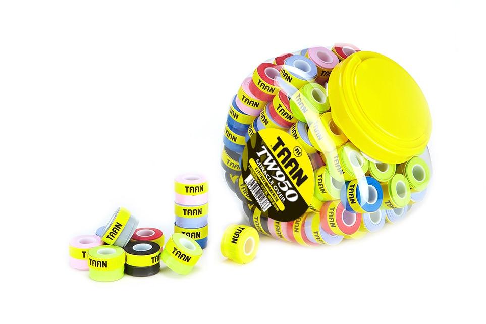 10pcs/lot TAAN TW950 Super Thin Tacky Feel Grip/Overgrip/badminton/tennis