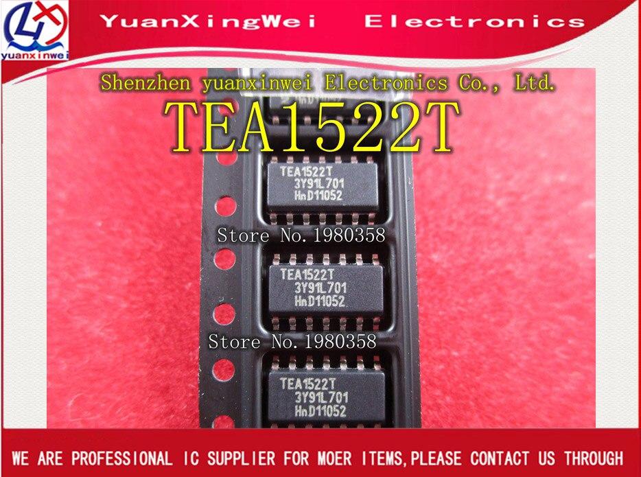 Free Shipping 10pcs TEA1522T TEA1522 IC CTRLR SMPS OCP UVD HV 14SOIC