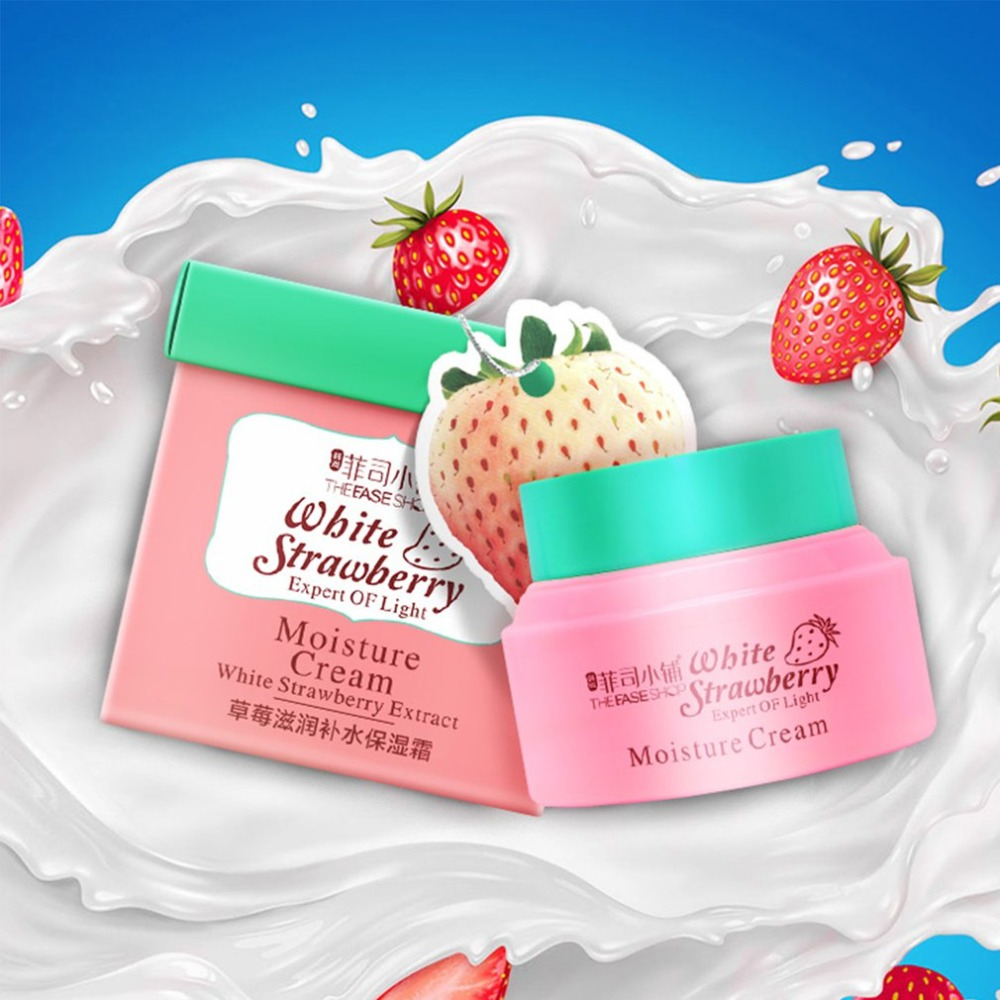 Fei Si Shop strawberry moisturizing cream