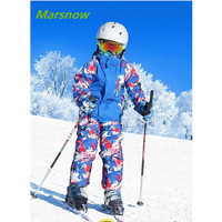 116 158cm Russia Children S Winter Snowboard Clothing Sets Sport Windproof Warm Coats Jackets And Pants