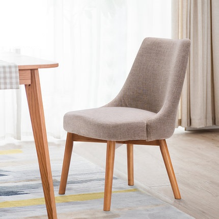 Dining Chair Wood Hotel Chair Fashion Coffee Chair Simple Leisure Chair Nordic Dining Chair Negotiation Chair plastic dining chair can be stacked the home is back chair negotiate chair hotel office chair