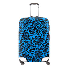 6 Fashion Waterproof Spandex Butterfly Printing Travel Luggage Cover Elastic 18-30 inch Anti-dust Suitcase Cover with Zipper