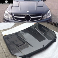 W204 C300 B style Carbon Fiber Fiber Engine Hoods Auto Car Bonnet For Mercedes Benz W204 C200 Brabus style 12 14