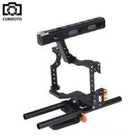 Poignée Grip DSLR Stabilisateur Vidéo Film Film Fait La Caméra Cage Pour Panasonic GH4 Sony A7 Series Caméra A7/A7II/A7s/A7r/A7RII