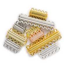 2 комплекта в полоску резные 2 ряда магнитных застежек фурнитура для изготовления ювелирных изделий Разъемы аксессуары 20-56 мм