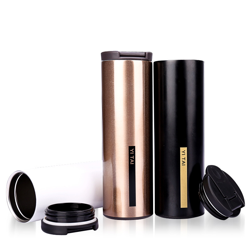 500ML Keep Mug Coffee Cup Stainless Steel Car Mugs leak proof Insulation Against Hot Mug Drinkware