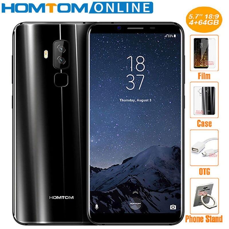 HOMTOM S8 16MP 5MP Dual Camera 4G font b Smartphone b font 5 7 Inch HD