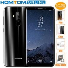 HOMTOM S8 16MP+5MP Dual Camera 4G Smartphone 5.7 Inch HD 18:9 Android 7.0 Mobile Phone Octa Core 4GB 64GB Fingerprint ID