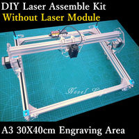 Desktop DIY Laser Engraver Engraving Machine Etcher CNC Picture Printer Assemble Kit Benbox 30X40cm A3 Ultra