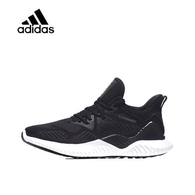 Nova Chegada Original Oficial Autêntico Adidas AlphaBOUNCE UltraBOOST Yeezy  Tênis de corrida Dos Homens Clássico Tênis f62a6ab302312