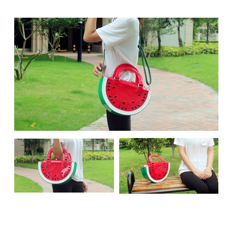 WOW watermelon bags Messenger shoulder bag Handbags Watermelons style cartoon fruit Famous Brand Ladies Designer Women Bags tote