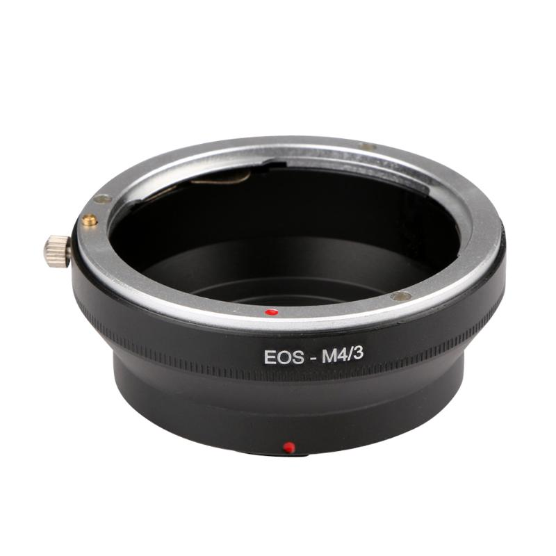 For EOS-M4/<font><b>3</b></font> <font><b>Canon</b></font> EOS EF Mount Lens To <font><b>Micro</b></font> <font><b>4</b></font>/<font><b>3</b></font> <font><b>Adapter</b></font> Ring Olympus M43 E-P1/E-P2/E-PL1 and Panasonnic G1/G2/GF1/GH1/GH2 image
