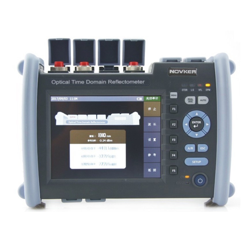 NK6000 OTDR Optical Fiber Breakpoint Detector with Built-in Visual Red Light for Locating Faults 5