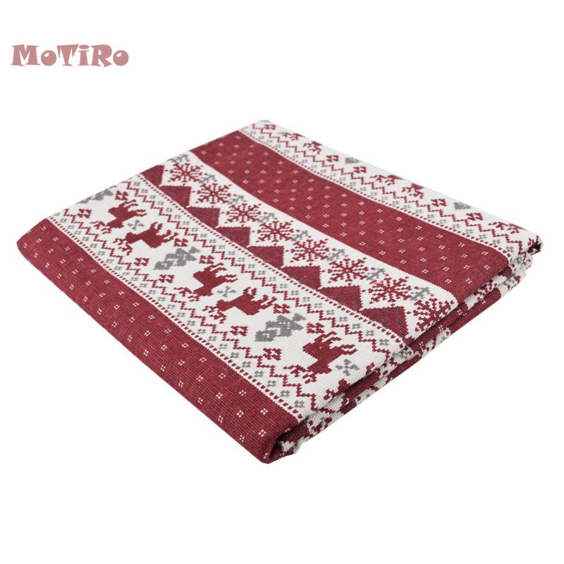 Motiro,printed Cotton Linen Fabric,christmas Series Cloth For Quilting/sewing/sofa/table/curtain/bag/cushion Material,half Meter We Have Won Praise From Customers Arts,crafts & Sewing
