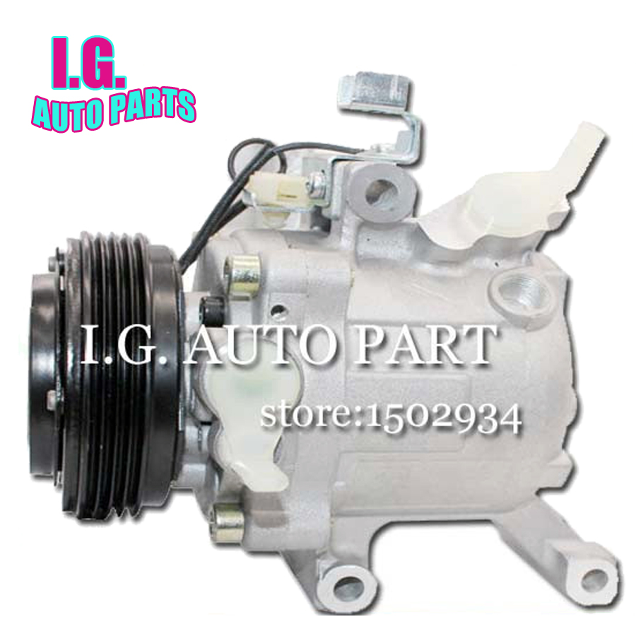 Sv07c A C Compressor For Car Toyota Passo Daihatsu Terios Evaporator Siron Denso Boon Sirion 88310 B1070 447190 6620 447260 5550 Kompressor In Air Conditioning