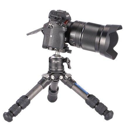 LS-223C + EB-36 costume professionnel l'appareil en fibre de carbone appareil photo bureau voyage Mini Portabl trépied monopode support pour Canon Nikon Sony