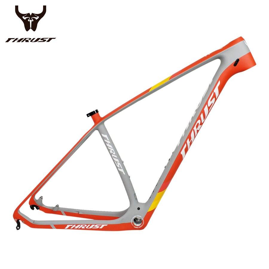 Hot Sale THRUST Bicycle Frame 29er 27.5er Mountain Bike Carbon Frame ...