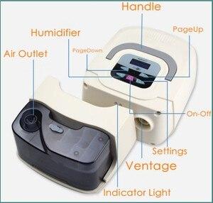 Image 3 - Doctoddd GI CPAP Portable CPAP Respirator for Anti Snoring Sleep Apnea OSAHS OSAS W/ Nasal Mask Headgear Tube Bag User Manual